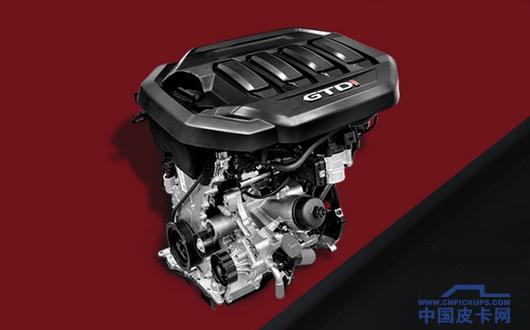 发动机是最大亮点 全新域虎汽油皮卡曝光