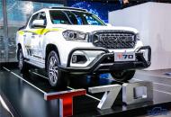 """韩宋杰:国六皮卡先行者上汽大通MAXUS T70搭载""""上汽π""""高性能柴油发动机"""
