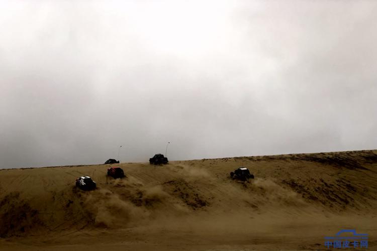 猛禽、坦途怎能缺席 库伦银沙湾越野赛事小记