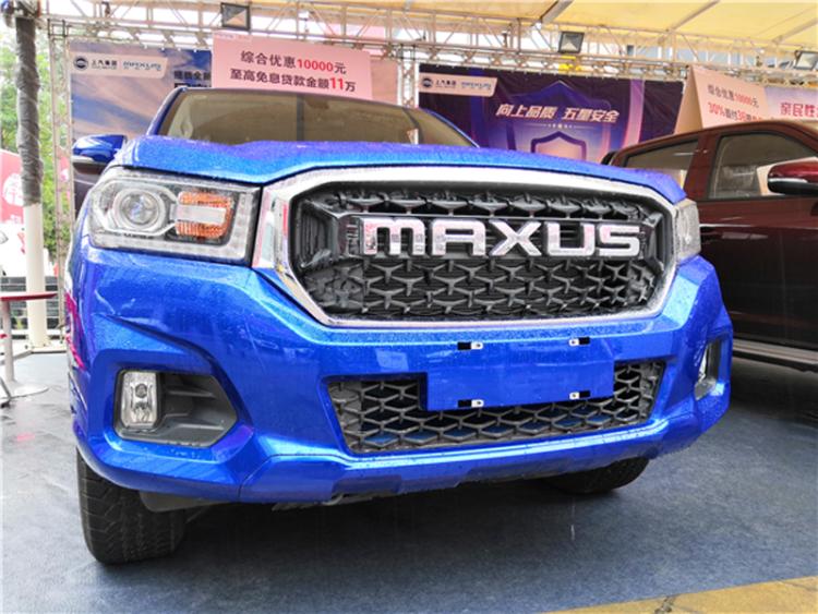 SUV级皮卡争先锋 上汽MAXUS首款国六柴油皮卡来了!