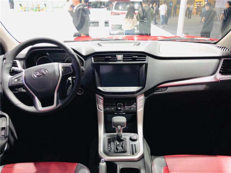 广州车展: 上汽MAXUS T70四驱标箱旗舰版亮相