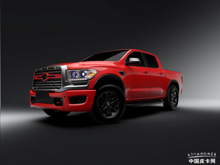 搭载国六柴油2.5T 中兴领主乘用版将于5月底上市