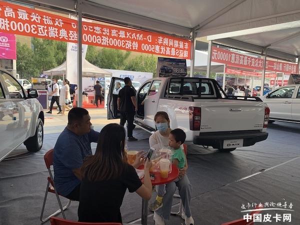 唐山市场份额稳居前三,皮卡中国行展江西五十铃锋芒