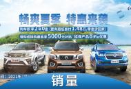 皮卡卖出4092台 郑州日产8月销量公布